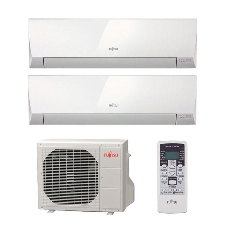 Aire acondicionado inverter 2x1 fujitsu asy3525mi lm de 5 for Aire acondicionado 3500 frigorias inverter