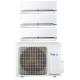 Conjunto aire acondicionado inverter 3x1 FREE-O 3.5Kw + 2.5Kw + 2.5Kw