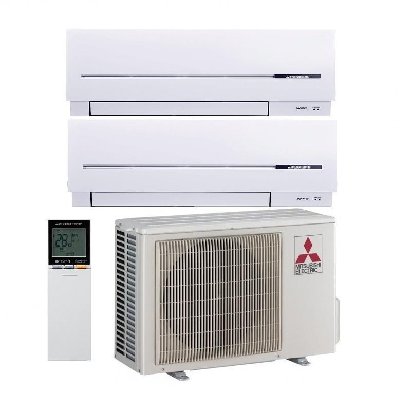 aire acondicionado mitsubishi electric 2x1 mxz 2d42va