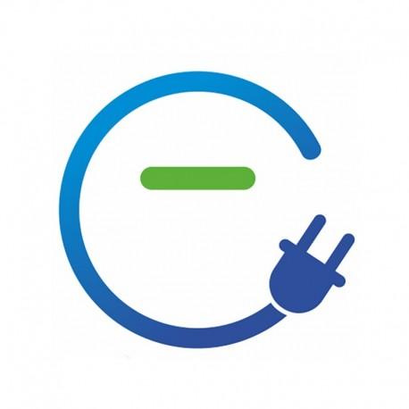 Cargador de coche eléctrico tipo II con indicador