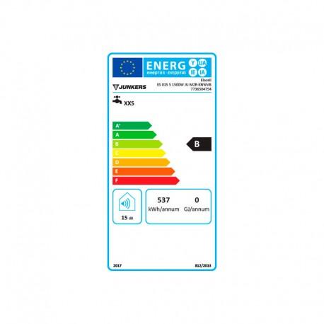 Etiqueta termo eléctrico Junkers Elacell ES-015-5 Vertical 15 litros