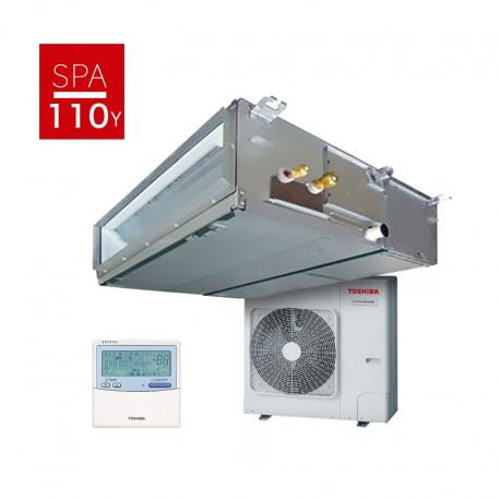 Conjunto aire acondicionado por conductos Toshiba DI Trifásica SPA Inverter 110Y