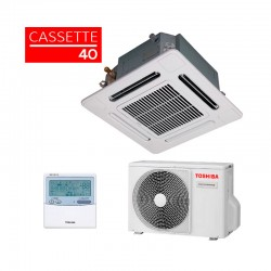 Aire acondicionado Cassette Slim Inverter Toshiba 40 3,6 Kw