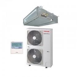 Perfil Aire acondicionado por conductos Toshiba Spa Inverter 160