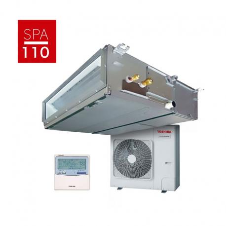 Conjunto aire acondicionado por conductos Toshiba DI Spa Inverter 110