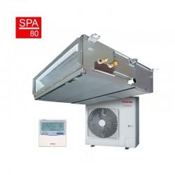 Conjunto aire acondicionado por conductos Toshiba DI Spa Inverter 80
