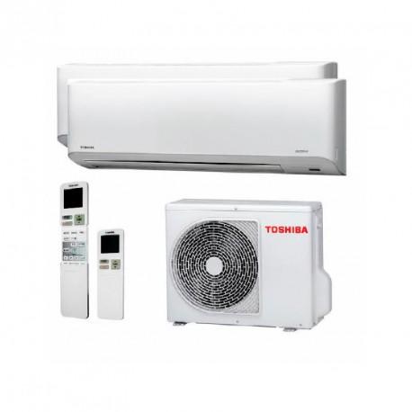 Aire Acondicionado 2x1 Toshiba 4 kW Mirai 10 + 13