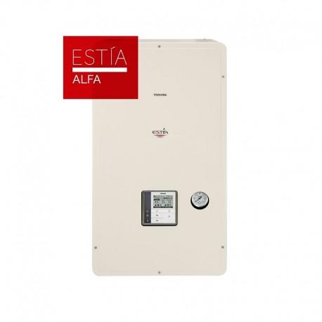 Aerotermia Toshiba ESTIA ALFA 55º - bomba calor aire agua de 6kW