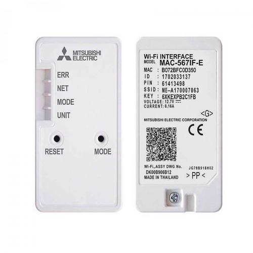 Adaptador WiFi Mitsubishi Electric MELCloud MAC-567IF-E