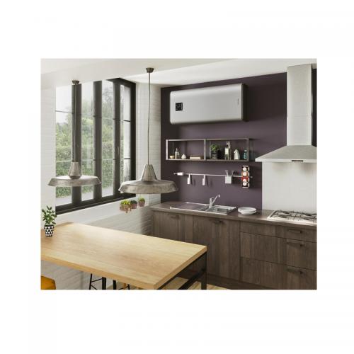 Termo eléctrico horizontal/vertical Thermor Onix Silver Connect de 80 litros