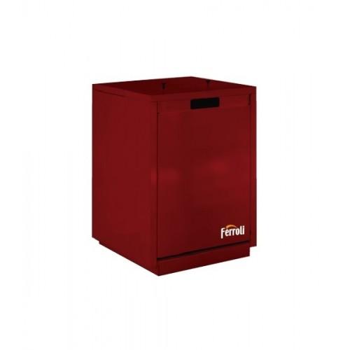 Termoestufa de pellets canalizable 19 Kw Ferroli Alda T 18