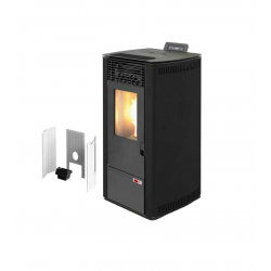 Estufa de pellets Maxlor NewBurn 12G (10kW) Alto rendimiento (biomasa)