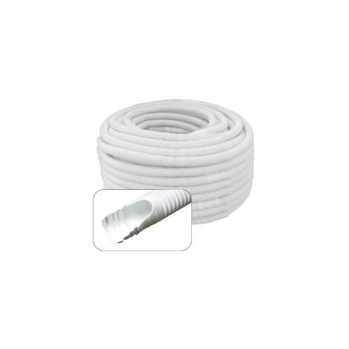 Tubo desagüe aire acondicionado - corrugado Ø16 con macho/hembra Ø18-20