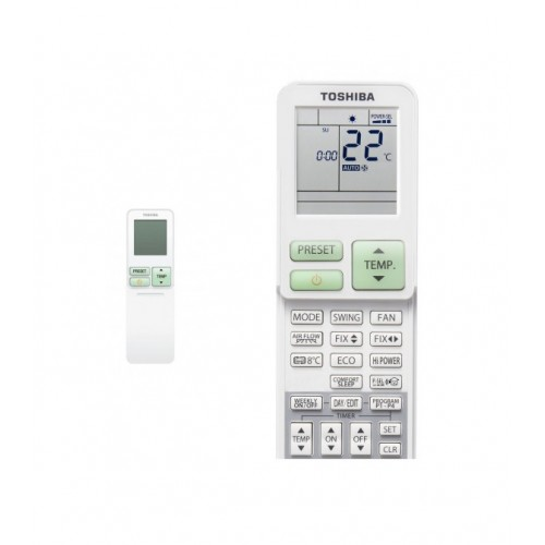 Control Aire acondicionado Toshiba Shorai 24 Split pared 7 Kw A++/A+ (R32)