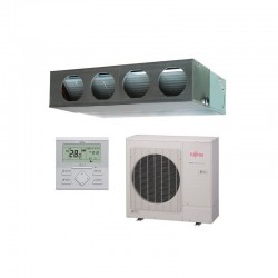 Aire acondicionado FUJITSU ACY80K-KA split conducto Inverter media presión (R32)