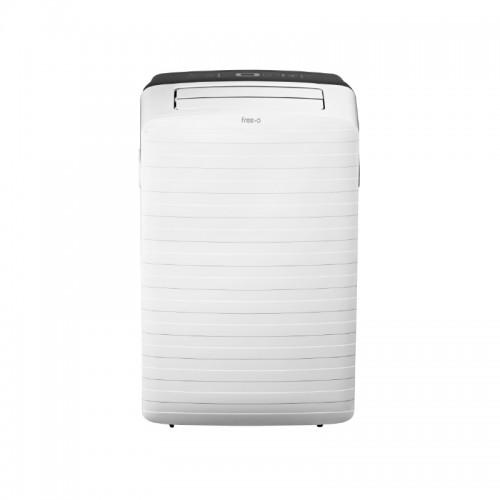 Aire acondicionado portátil con bomba calor, tubo de salida y kit ventana FREE-O 3.5 kW (R290)