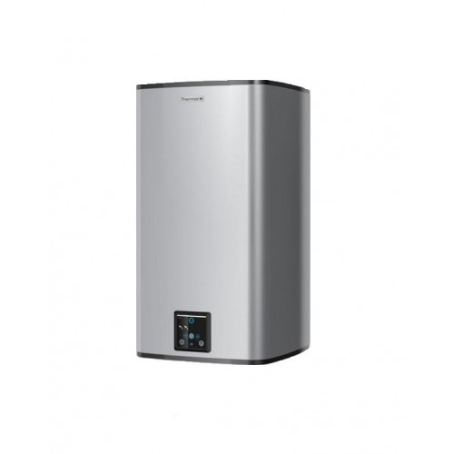 Termo eléctrico con WiFi Thermor Square Silver Connect 100 L Vertical
