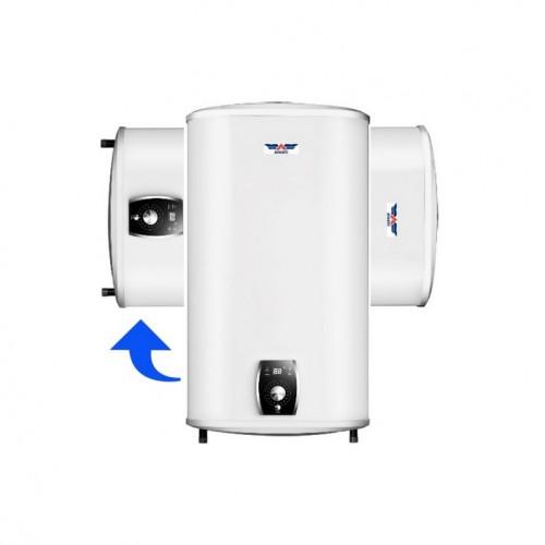 Instalación biposicional Termo eléctrico de 80 litros horizontal / vertical Aparici P 80