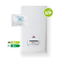 Caldera de condensación Saunier Duval ThemaFast S30 con termostato Exacontrol E7 RC