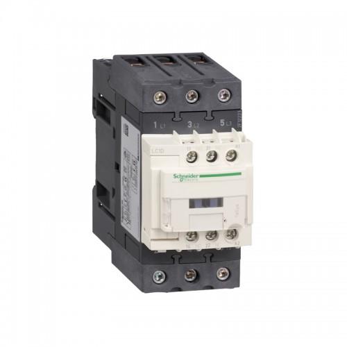 Contactor Schneider LC1D50AF7 Tesys D - 3P(3 NO) - AC-3 440V 50 A - 110 V CA bobina