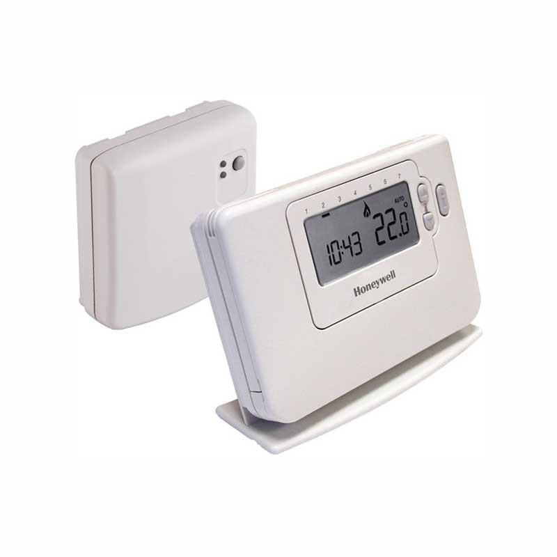 Termostato digital inal mbrico honeywell chronotherm - Termostatos digitales calefaccion ...