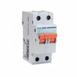 Interruptor automático MN516V monofásico unipolar + neutro 16A Curva C