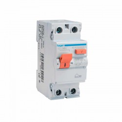 Interruptor diferencial eléctrico Hager CD748V de 40A, 2P, 30mA