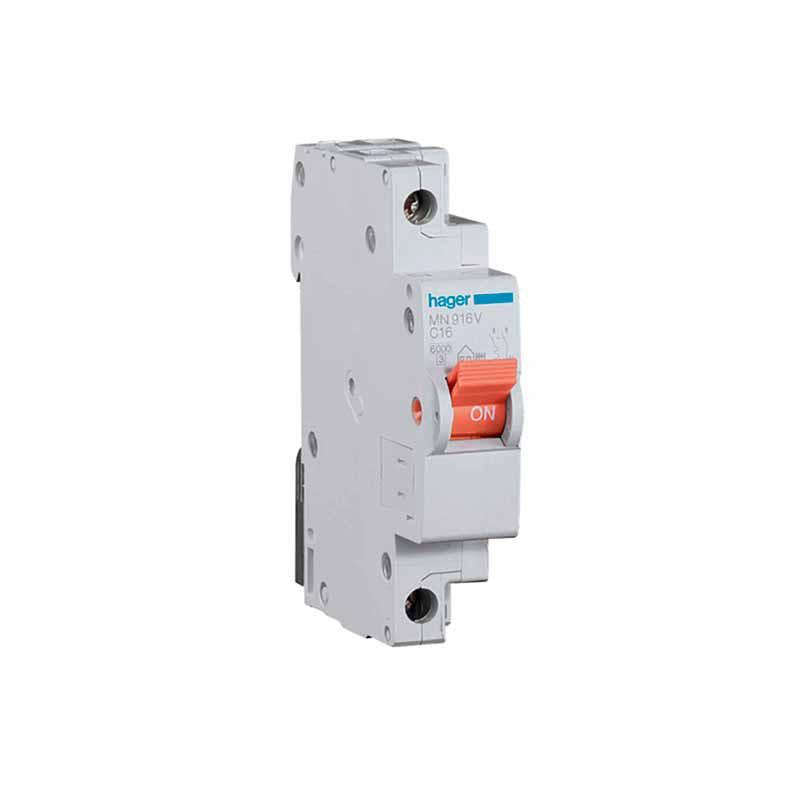 Interruptor autom tico estrecho hager mn925v rp - Interruptor general automatico ...
