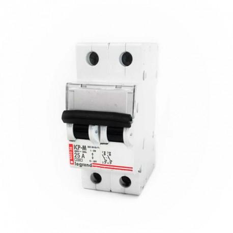 Interruptor de control de potencia Legrand 603038 2P 25A 230/400V