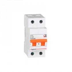 Interruptor Magnetotérmico Unipolar Legrand 402419 40A 230V