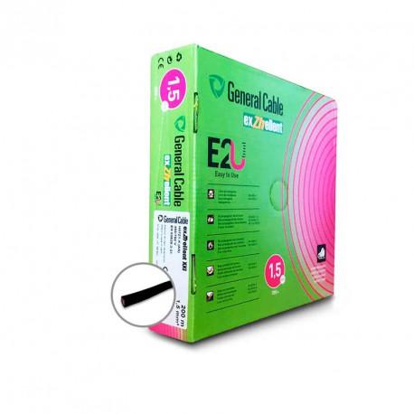 Cable unifilar eléctrico libre halógenos EXZHELLENT-XXI 1,5mm2