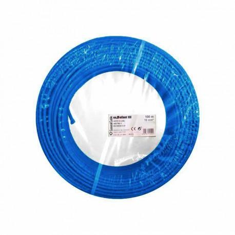 Cable eléctrico libre de halógenos unifilar EXZHELLENT-XXI 10mm2 100 metros