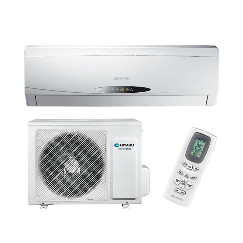 Aire acondicionado inverter hiyasu ase9ui hn conjunto for Aire acondicionado 3500 frigorias inverter