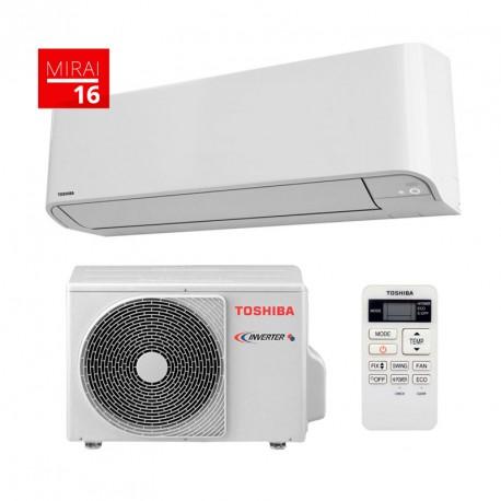 Aire Acondicionado Inverter Toshiba Mirai 16