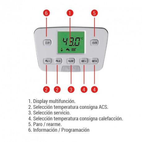 Mando Caldera  Baxiroca Neodens Plus ECO 24/24 F