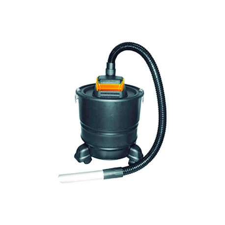 Aspirador de cenizas maXlor 18 L para estufa de pellets o chimenea