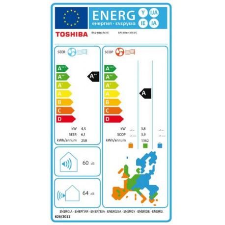 Etiqueta Inverter Toshiba Monza 16