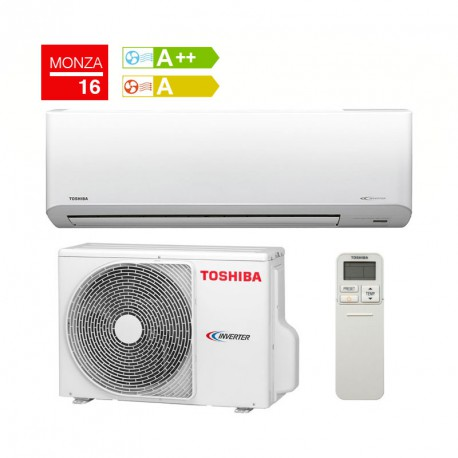 Aire Acondicionado Inverter Toshiba Monza Plus 16
