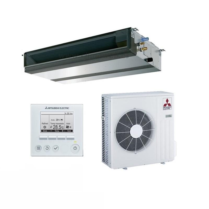 Aire acondicionado por conductos mitsubishi electric gpezs for Aire acondicionado conductos