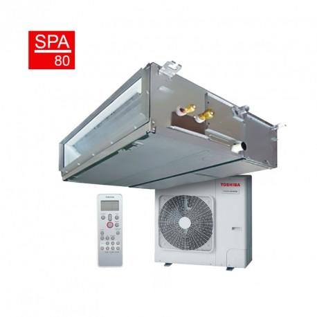 Conjunto aire acondicionado por conductos Toshiba Spa Inverter 80