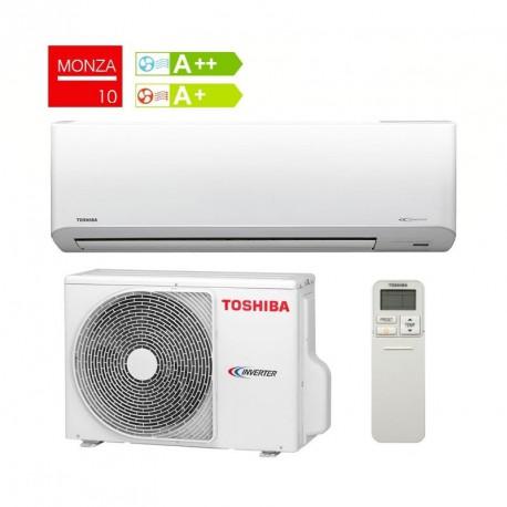 Aire acondicionado silencioso toshiba monza plus 10 de 2 5 for Aire acondicionado 3500 frigorias inverter