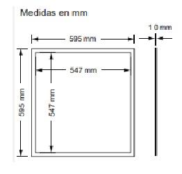 Plafon led para el techo 40 w