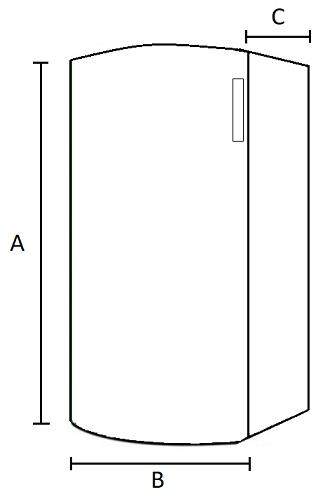 Dimensiones Caldera de Pellets AMG Boiler 15 Kw