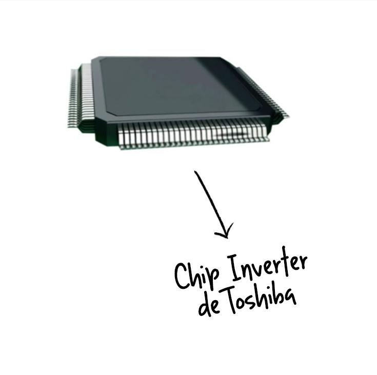 Chip de Tecnología Inverter para Aire Acondicionado