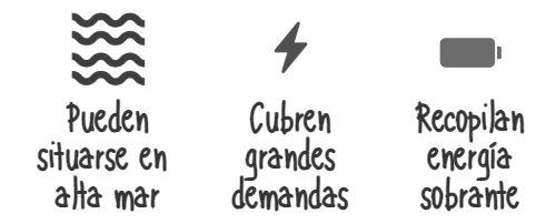 Características de parques eólicos