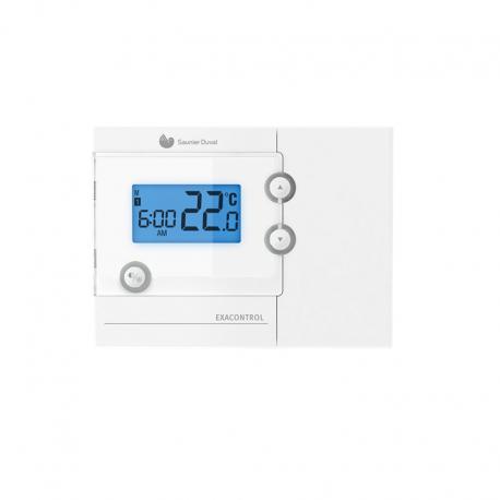 Termostato programable Saunier Duval Exacontrol 7 RV2 semanal