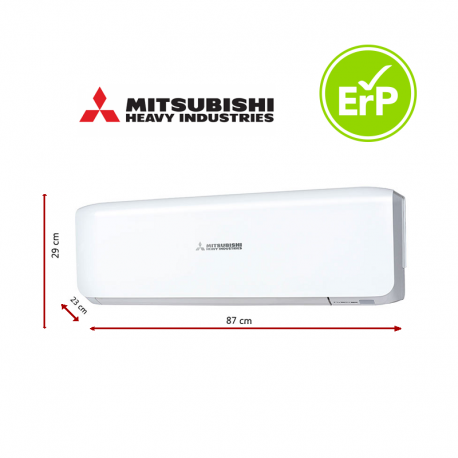 Unidad Interior Mitsubishi Heavy Industries SRK35ZS de 3000 frigorías