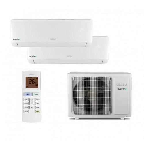 Aire Acondicionado Daitsu 2x1 Inverter ASD9K2I-DB A++ WiFi (R32)