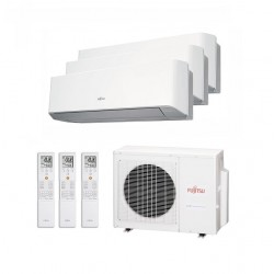Aire acondicionado 3x1 Fujitsu AOY71UI-MI3 + ASY502525MILMC A++/A+