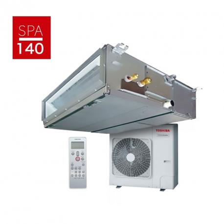 Conjunto Aire acondicionado por conductos Toshiba Spa Inverter 140 R32 DI